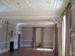 Interior decoration spraying